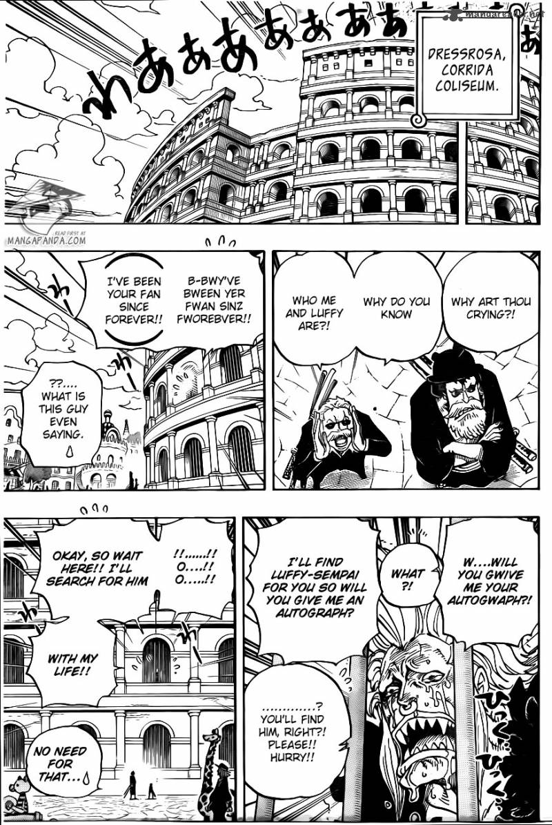 One Piece - Chapter 727