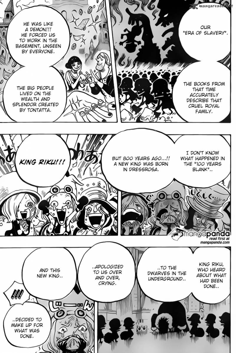 One Piece - Chapter 728