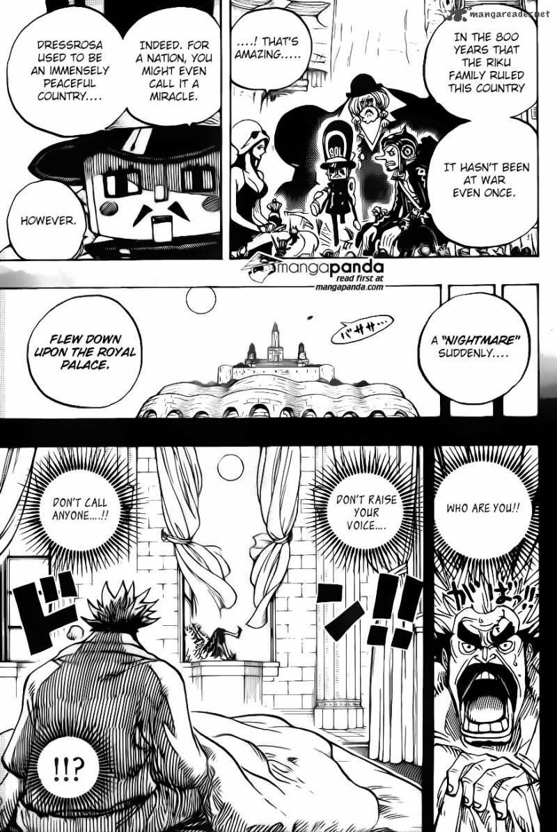 One Piece - Chapter 729