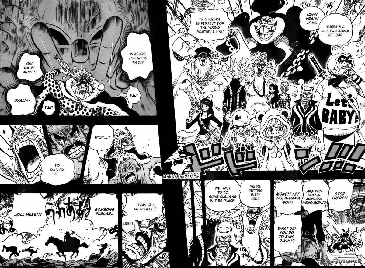 One Piece - Chapter 730
