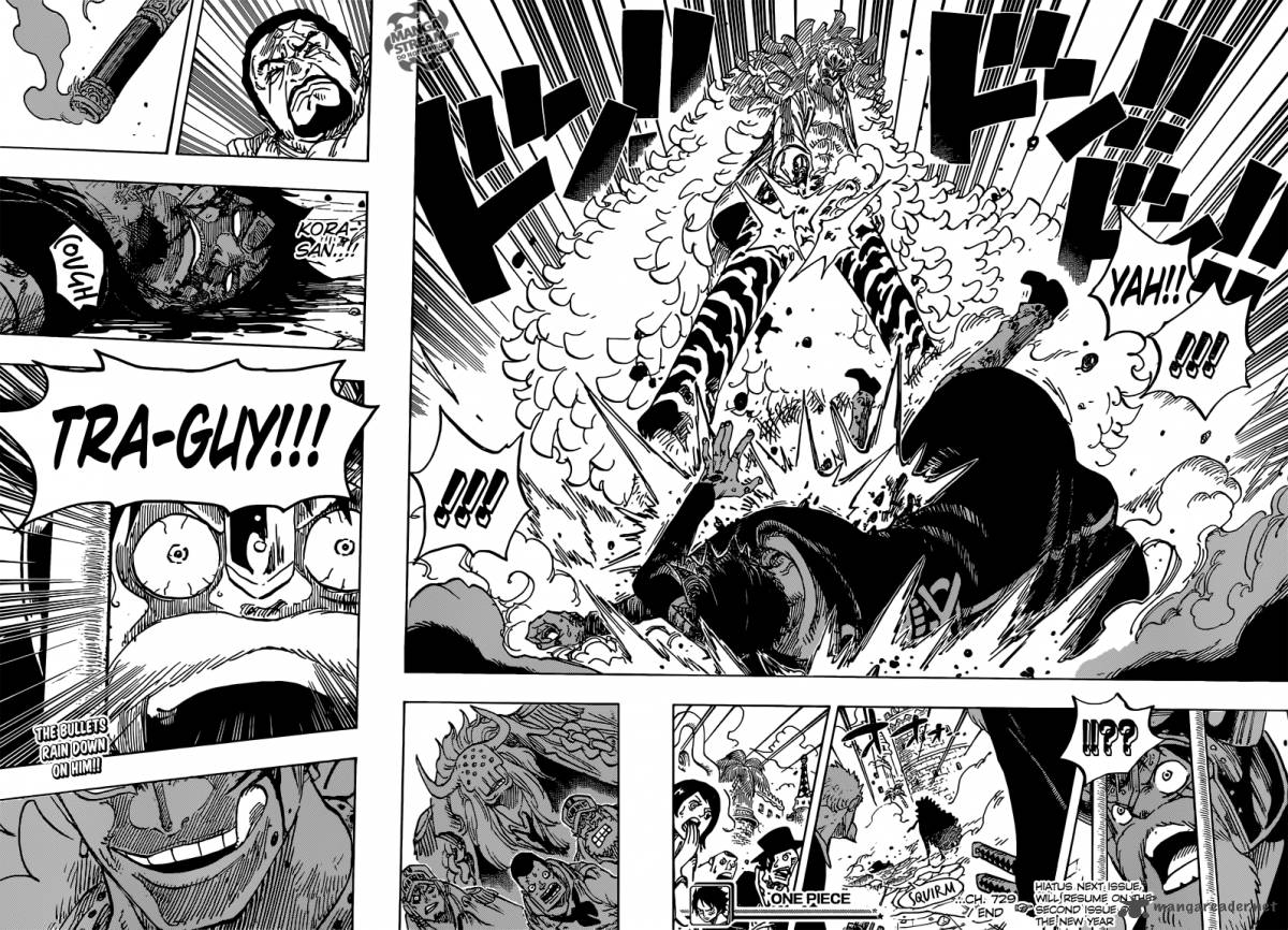 One Piece - Chapter 732