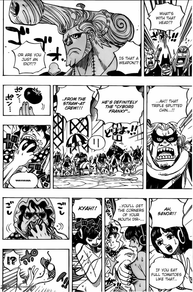 One Piece - Chapter 734