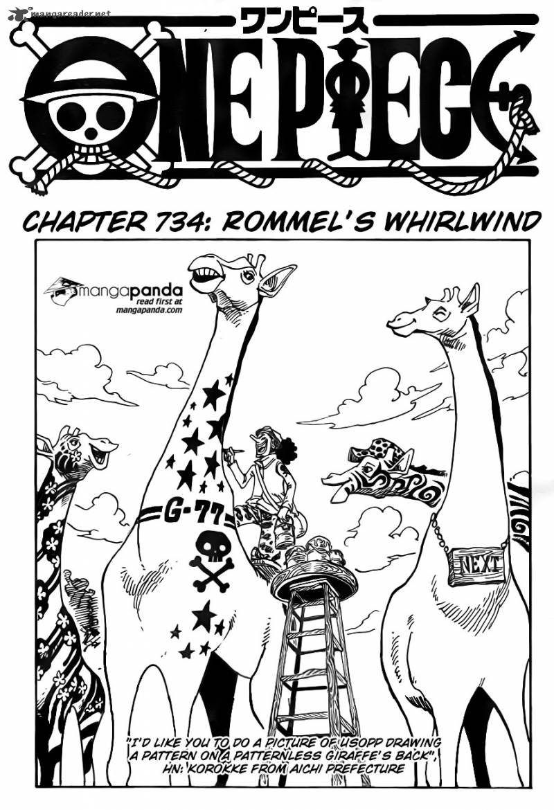 One Piece - Chapter 736
