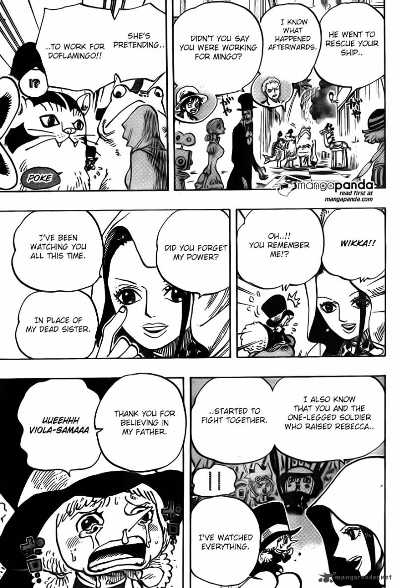 One Piece - Chapter 737