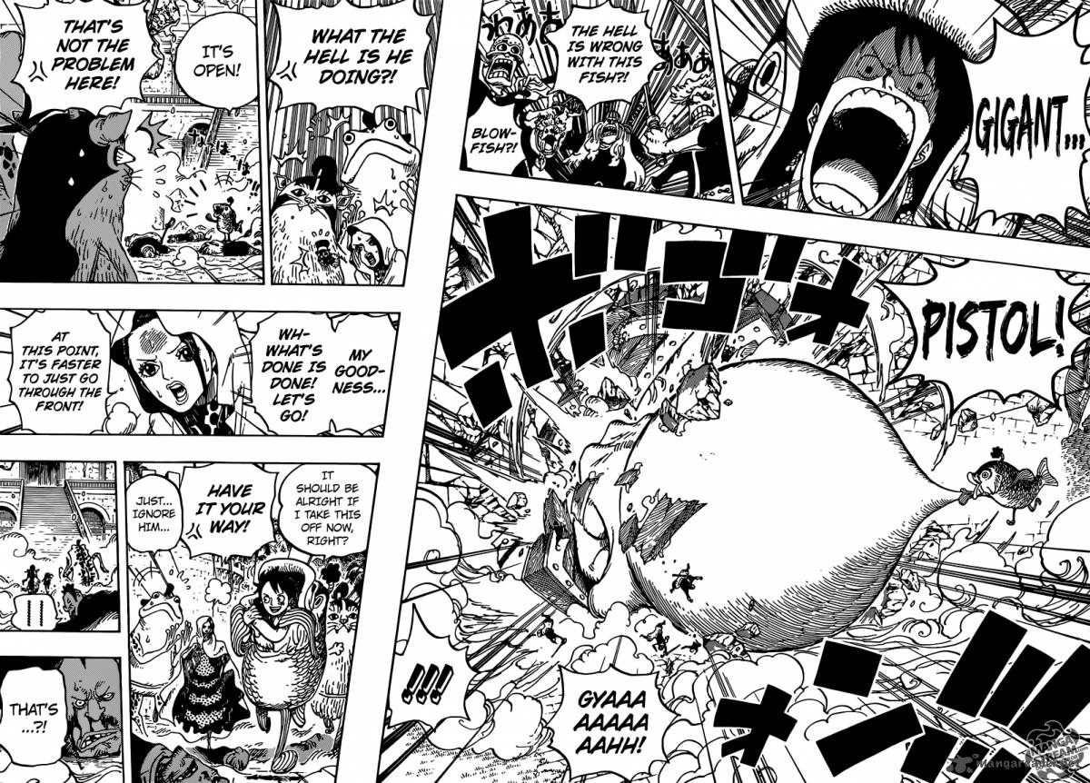 One Piece - Chapter 700
