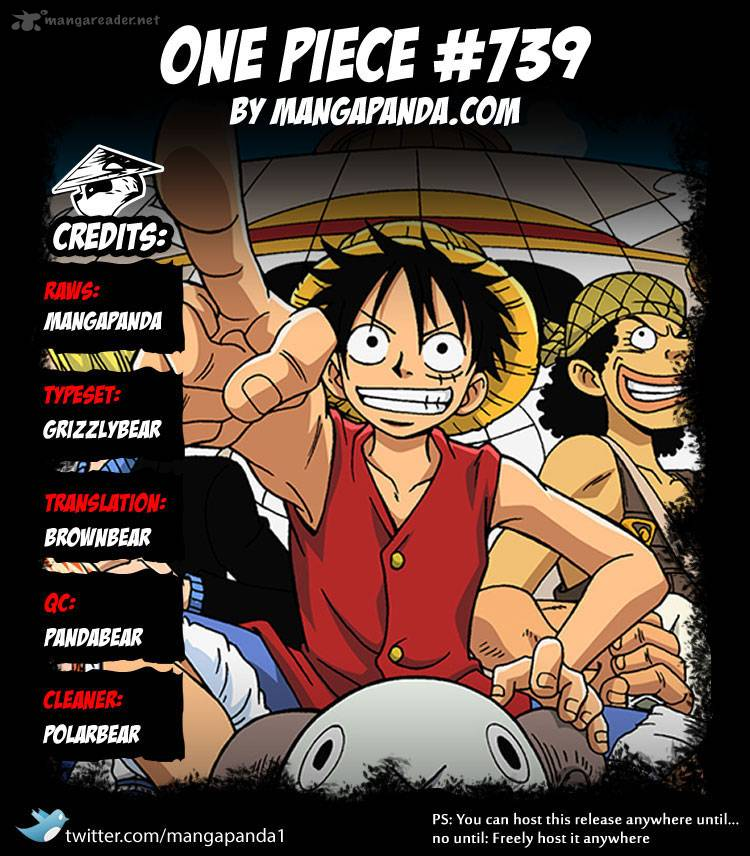 One Piece - Chapter 741