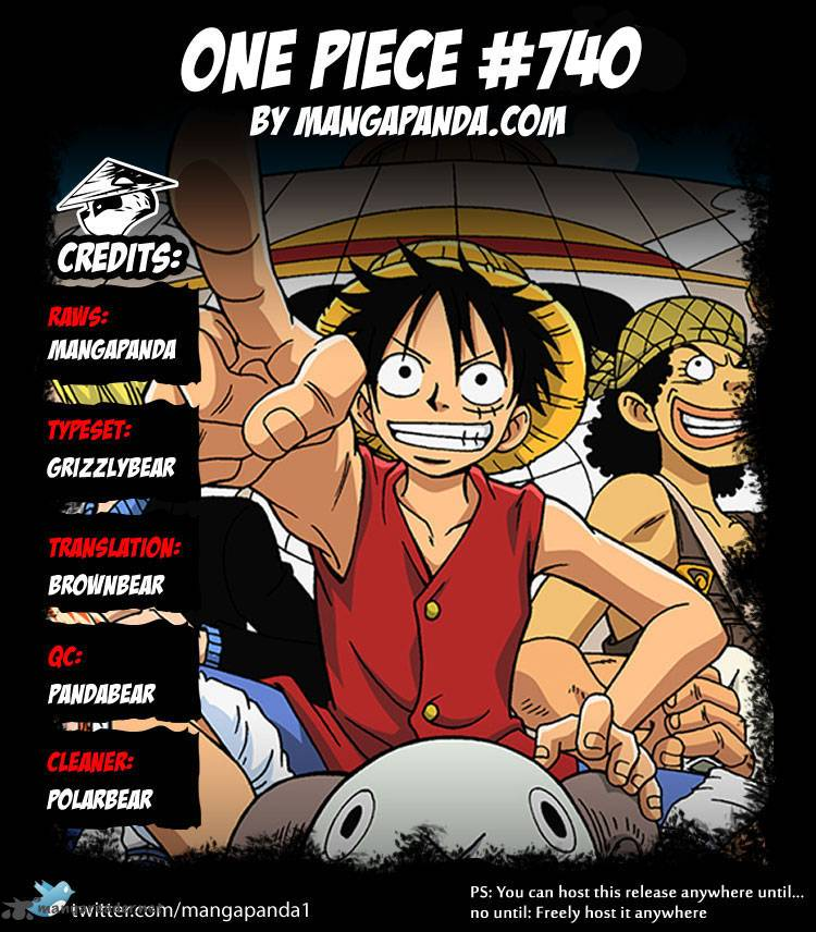One Piece - Chapter 742