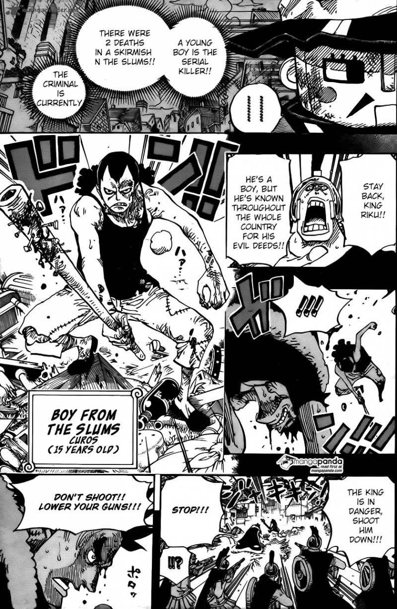 One Piece - Chapter 743