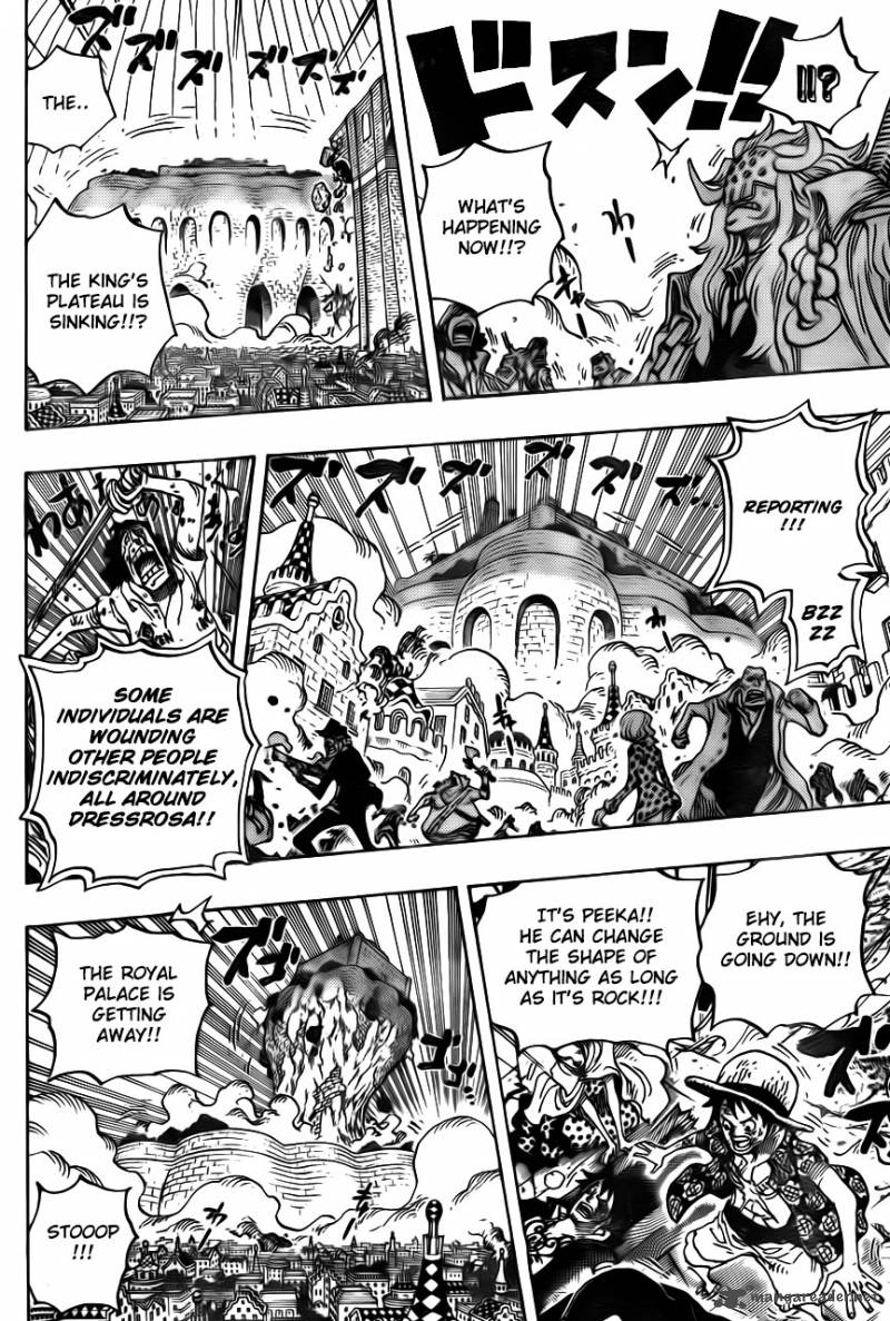 One Piece - Chapter 747