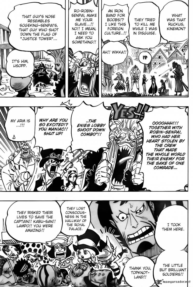 One Piece - Chapter 748