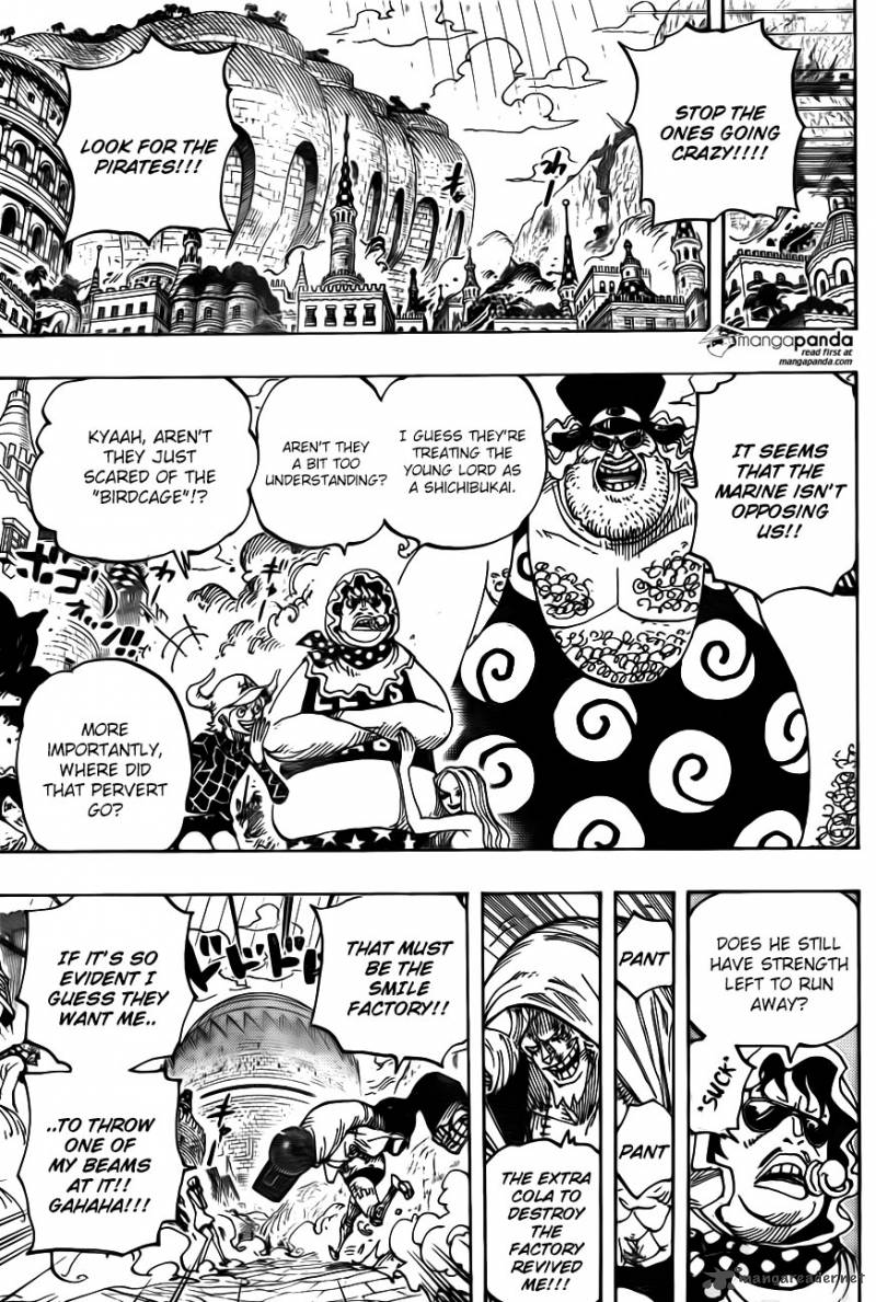 One Piece - Chapter 749