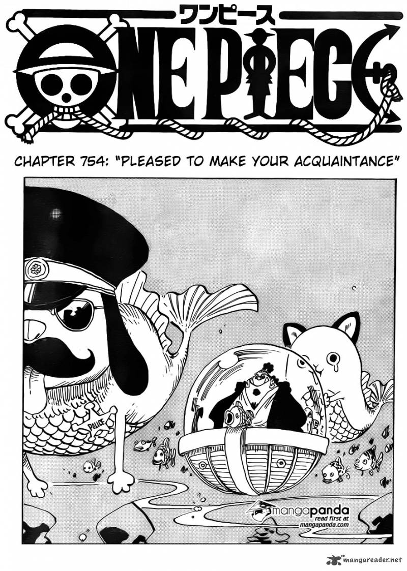 One Piece - Chapter 756