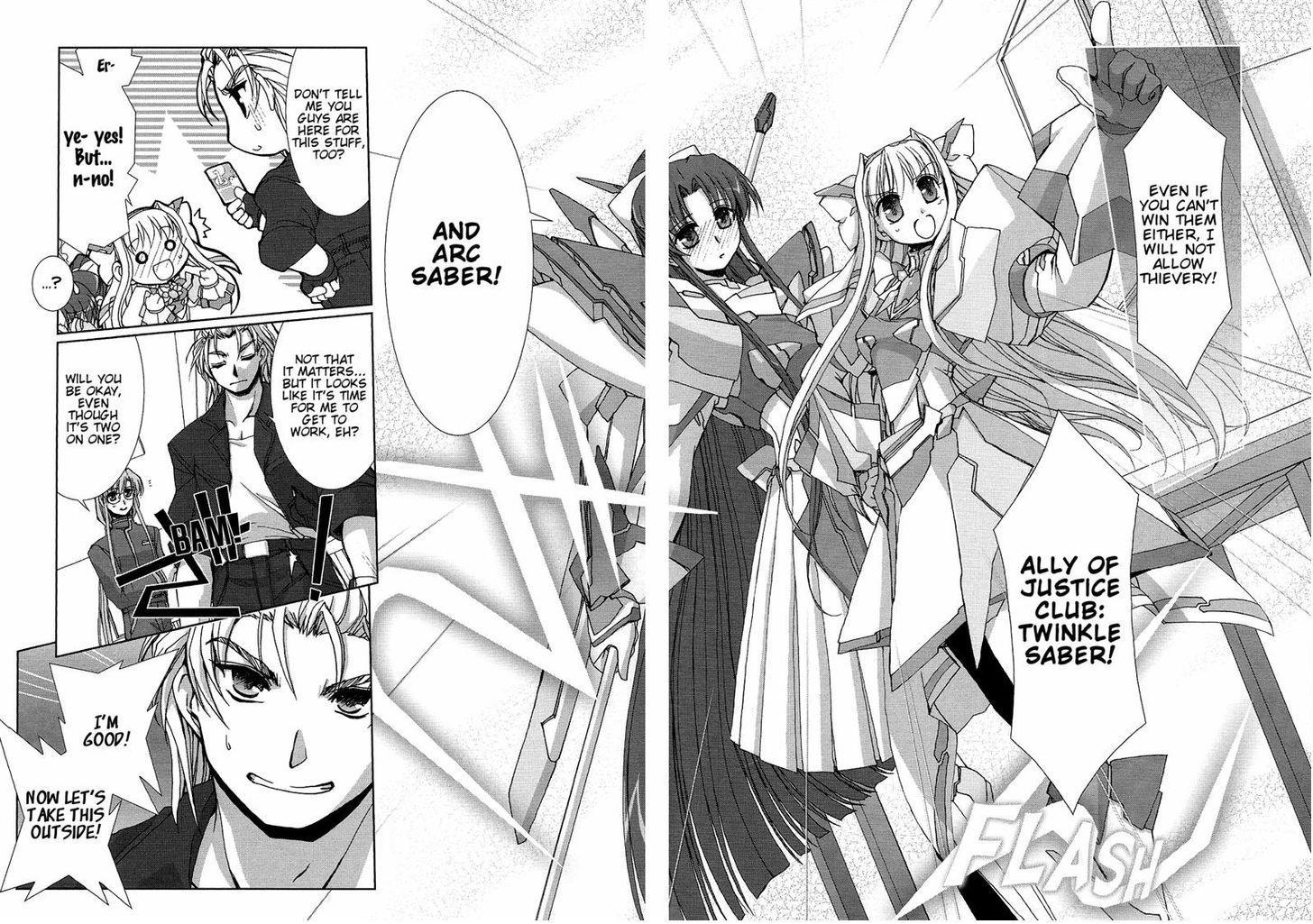 Twinkle Saber Nova - Chapter 5