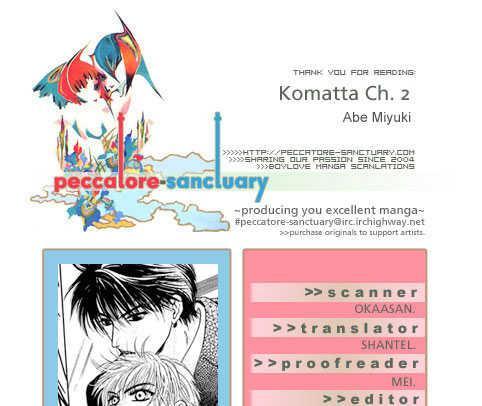 Komatta Toki Ni Wa Hoshi Ni Kike! Vol.8 Ch.2 page 1.html at www.Mangago.me
